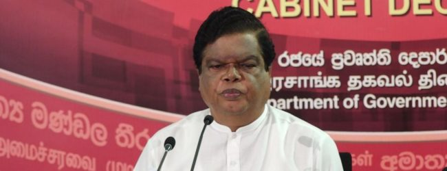 President can decide on lockdown in a matter of minutes – Bandula