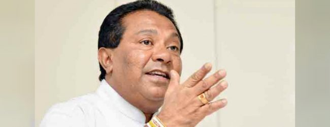 I have no salary left to donate to COVID-19 fund: S.B. Dissanayake