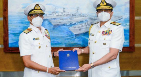 Rear Admiral YN Jayarathne appointed as Navy Chief of Staff