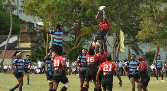 Air Force Commander's Cup : CH & FC edge out Air Force 23 – 21