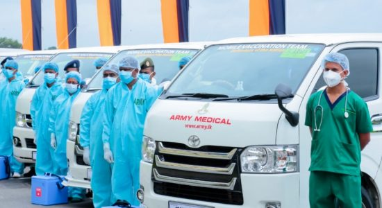(VIDEO) Army Mobile Vaccination Fleet commences operations