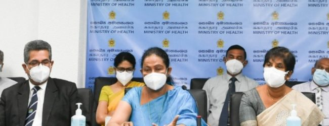 Health Ministry requests public to avoid panicking for 02nd dose of AstraZeneca jab