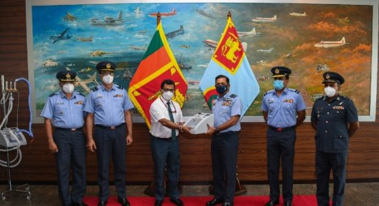 Air Force manufactures Heated Humidified Oxygen Therapy Units for Health Sector