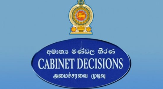 Cabinet decides to donate August salary to the COVID-19 fund