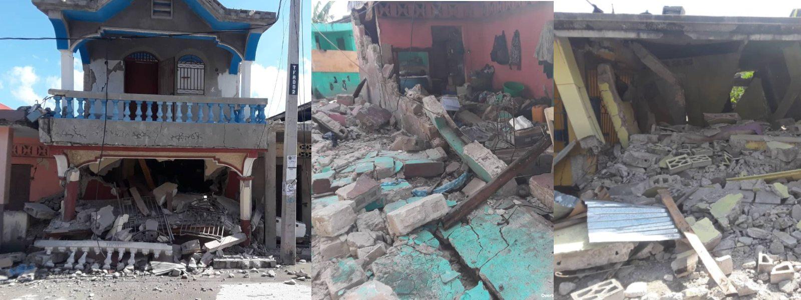 304 Dead After A 7.2 Magnitude Earthquake Hits Haiti