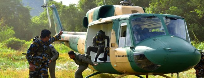 Air Force re-commences Jungle & Water Survival training after lapse of 02 years