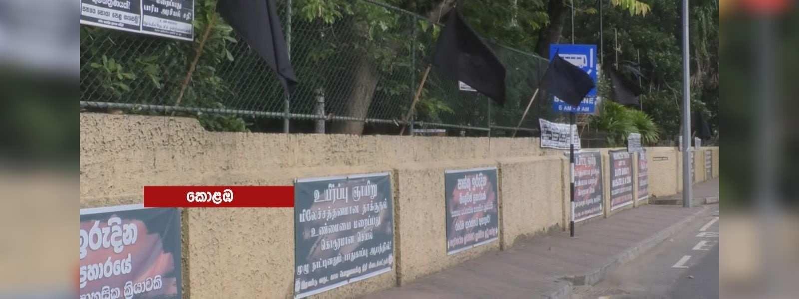 'Silent black protest day' underway