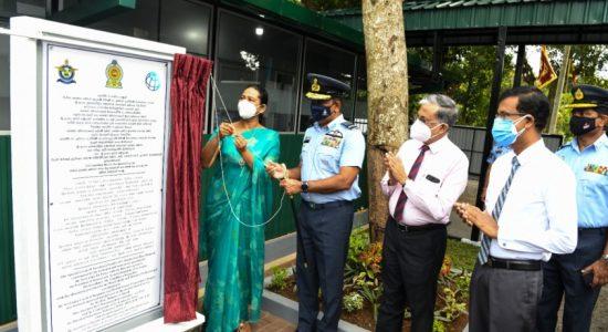 (PICTURES) SLAF hands over new ward complex at Mulleriyawa Base Hospital