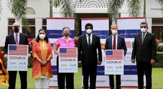 100,000 Pfizer doses donated via COVAX program