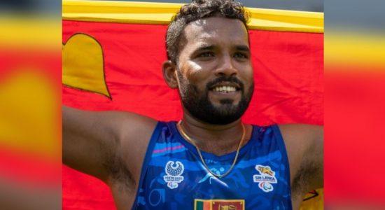 GOLD for Sri Lanka at Tokyo Paralympics