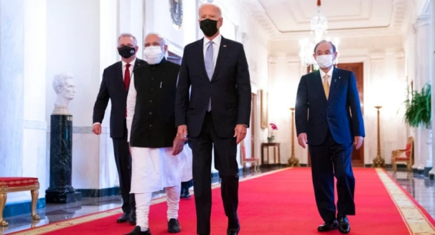 Quad leaders pledge for a free 'Indo-Pacific' amid China tensions