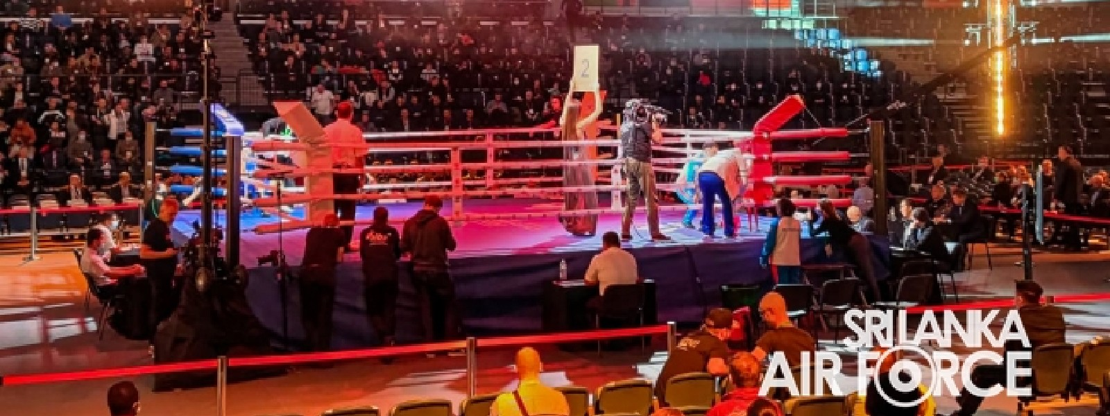 Air Force boxer wins bronze at World Military Boxing Championship