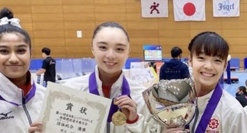 Milka wins gold in Yamagata