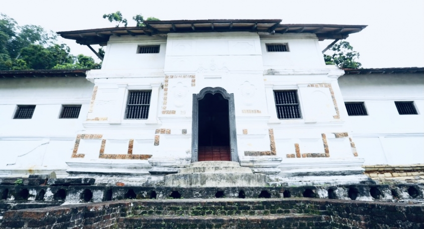 Rs. 52 Mn from US to conserve 17th century Royal Palace in Kandy