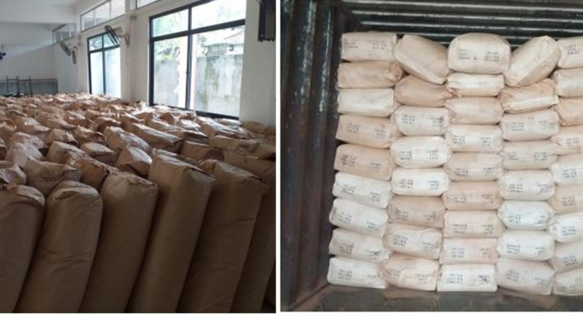 Two arrested with over 8,000kg of refuse tea