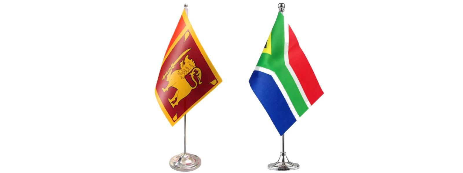 Sri Lanka & South Africa discuss reparations & post-conflict development