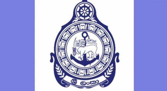 Recently seized foreign drug boat brought to Colombo