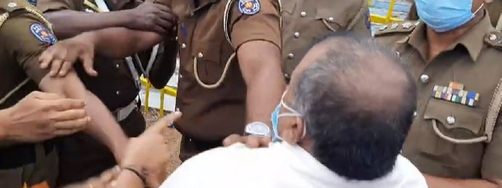 MP detained for attending Dileepan Memo; Arrested for breaching Q/laws