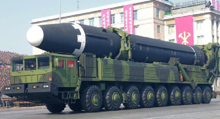 North Korea fires 2 ballistic missiles into eastern waters