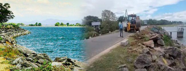 NO Action on damage caused to Parakrama Samudra; Damaged breakwater yet to be repaired
