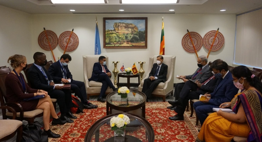 SL & UK discuss Trade, Investment, and Domestic Reconciliation Process
