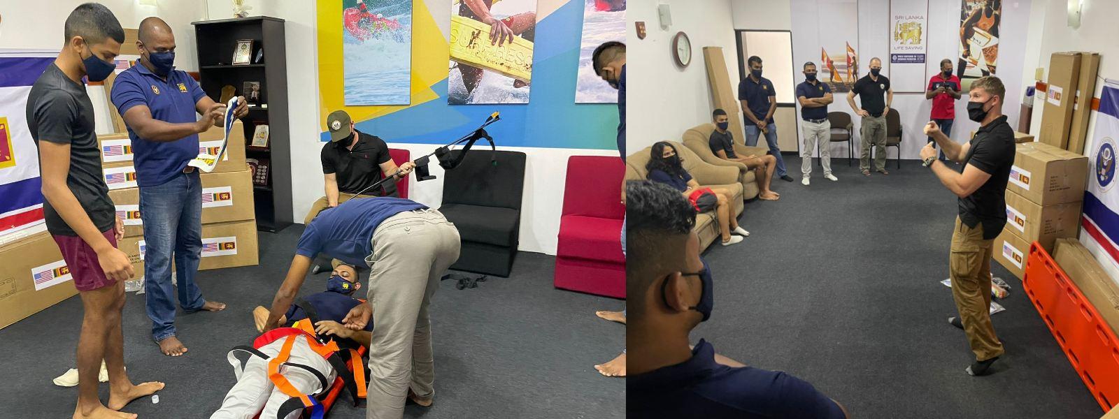 US continues assistance towards Sri Lankan Lifesavers