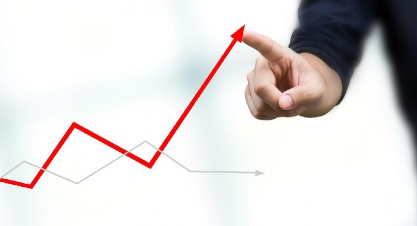 Economic growth in second quarter 12.3%