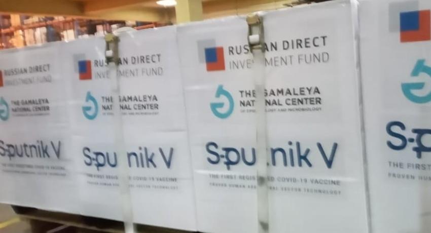 120,000 Sputnik-V doses arrive in SL