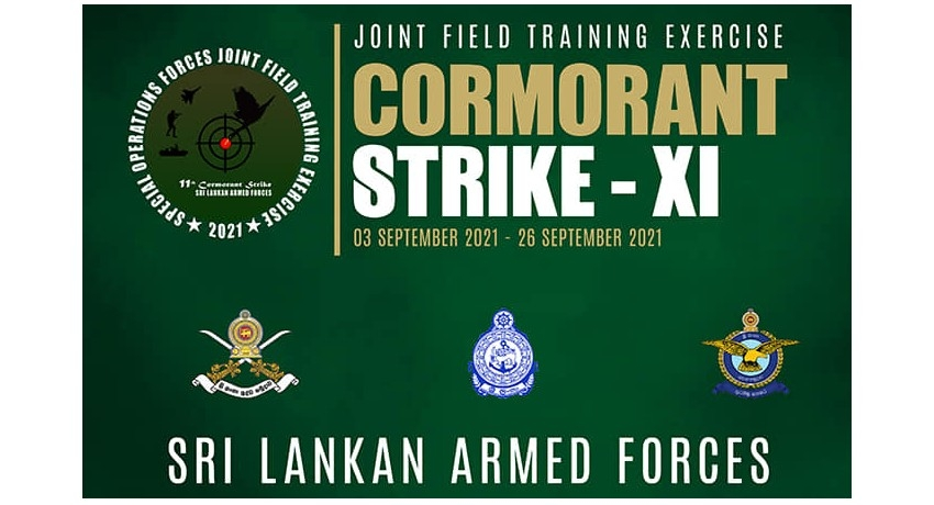 Exercise – Cormorant Strike XI – 2021 begins with over 2,000 local & foreign troops