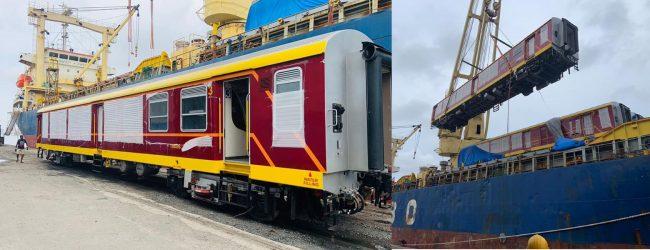 India supplies 20 more passenger coaches
