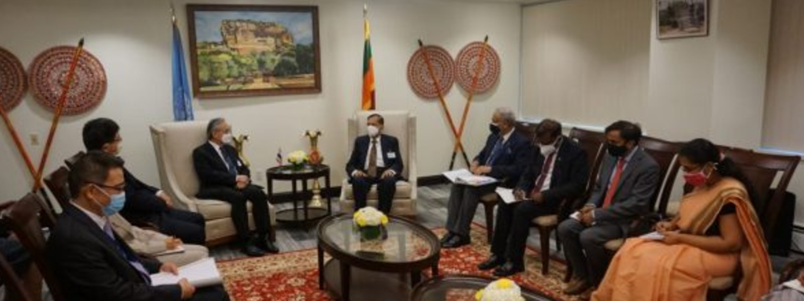 Sri Lankaand Thailandresolve to build on Buddhist Heritage