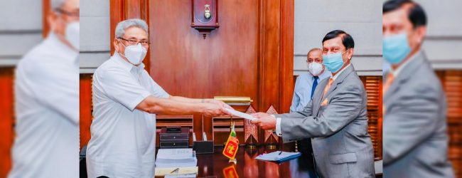 Cabraal receives letter of appointment as CBSL Governor