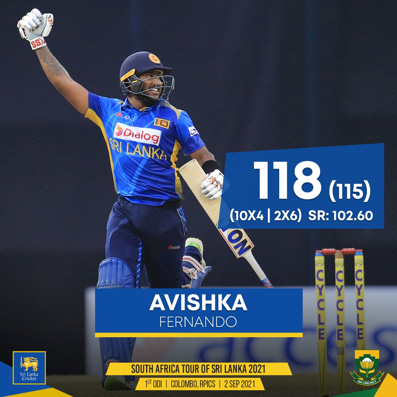 Sri Lanka defeat South Africa to take series lead