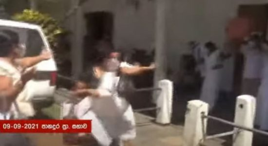 (VIDEO) Chaos at Panadura PS over Funds Withdrawal