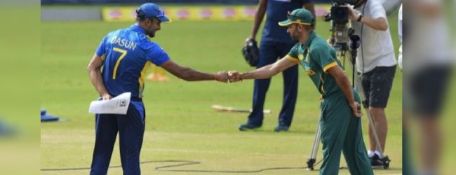 Second T20 match between Sri Lanka and South Africa today
