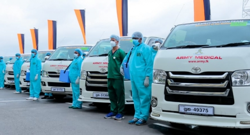 Army Vaccination Centers & Mobile Vaccination Fleet to continue operations on Friday (03)