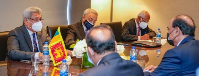President meets Kuwait PM for bilateral talks in NY, on the sidelines of UNGA