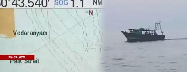 (Video) Hundreds of Indian Trawlers in Sri Lankan waters