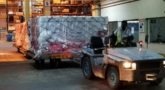 Four million doses of Sinopharm reach Sri Lanka