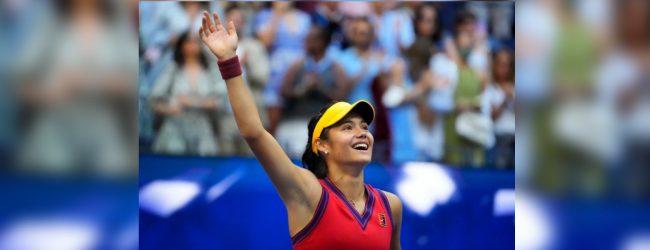 UK's Raducanu makes history with U.S. Open victory