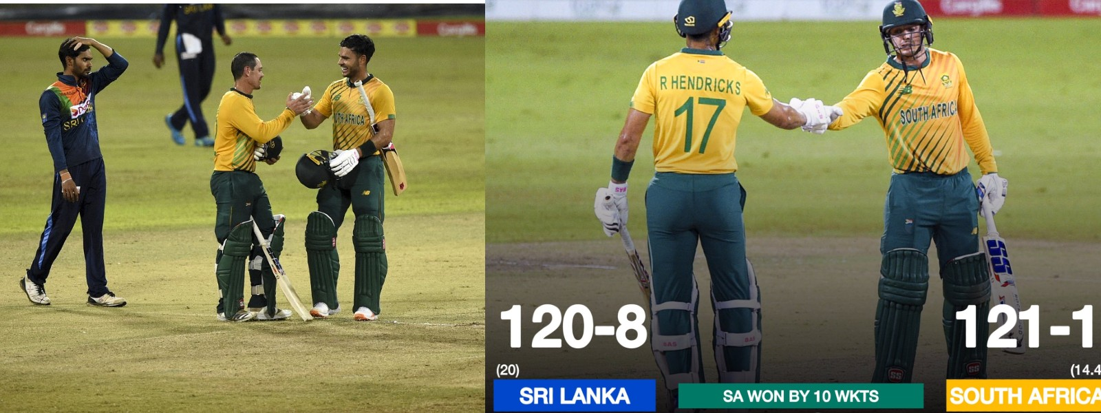 South Africa Complete Clean Sweep With Resounding Win over Sri Lanka