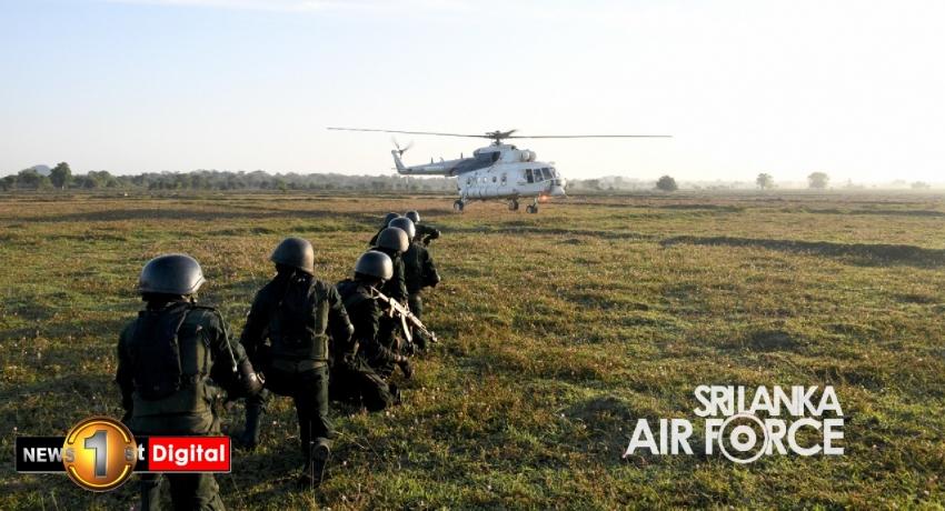 Air Force Regimental Special Forces in Cormorant Strike