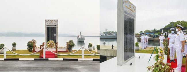 4FAF War Monument unveiled at Naval Dockyard, Trincomalee