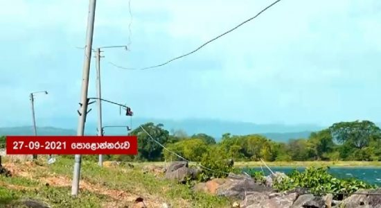 Parakrama Samudra Electric Fence reconstruction begins