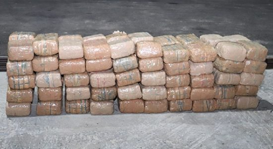 Navy seizes Kerala cannabis worth more than Rs. 68 million street value in northern seas