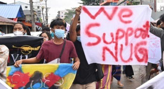 Myanmar shadow Govt. declares 'people's defensive war'