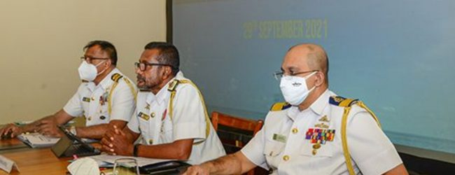 Indian and SL Navies discuss measures to curb fishermen assaults, smuggling