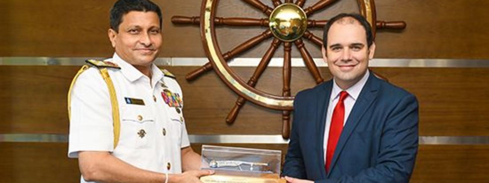 Ambassador of New Zealand pays courtesy call on Navy Commander