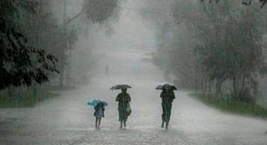 WEATHER ALERT: Heavy Rains expected for the next 24 hours