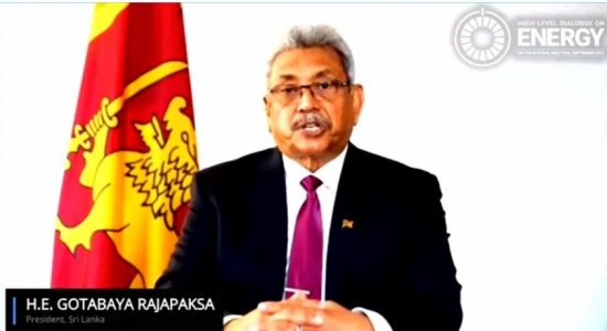 SL to go carbon neutral by 2050 & welcomes large scale investment in renewable energy – President